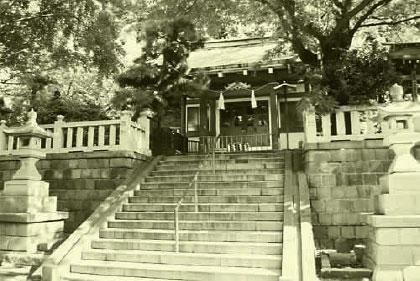 现在的元町严岛神社