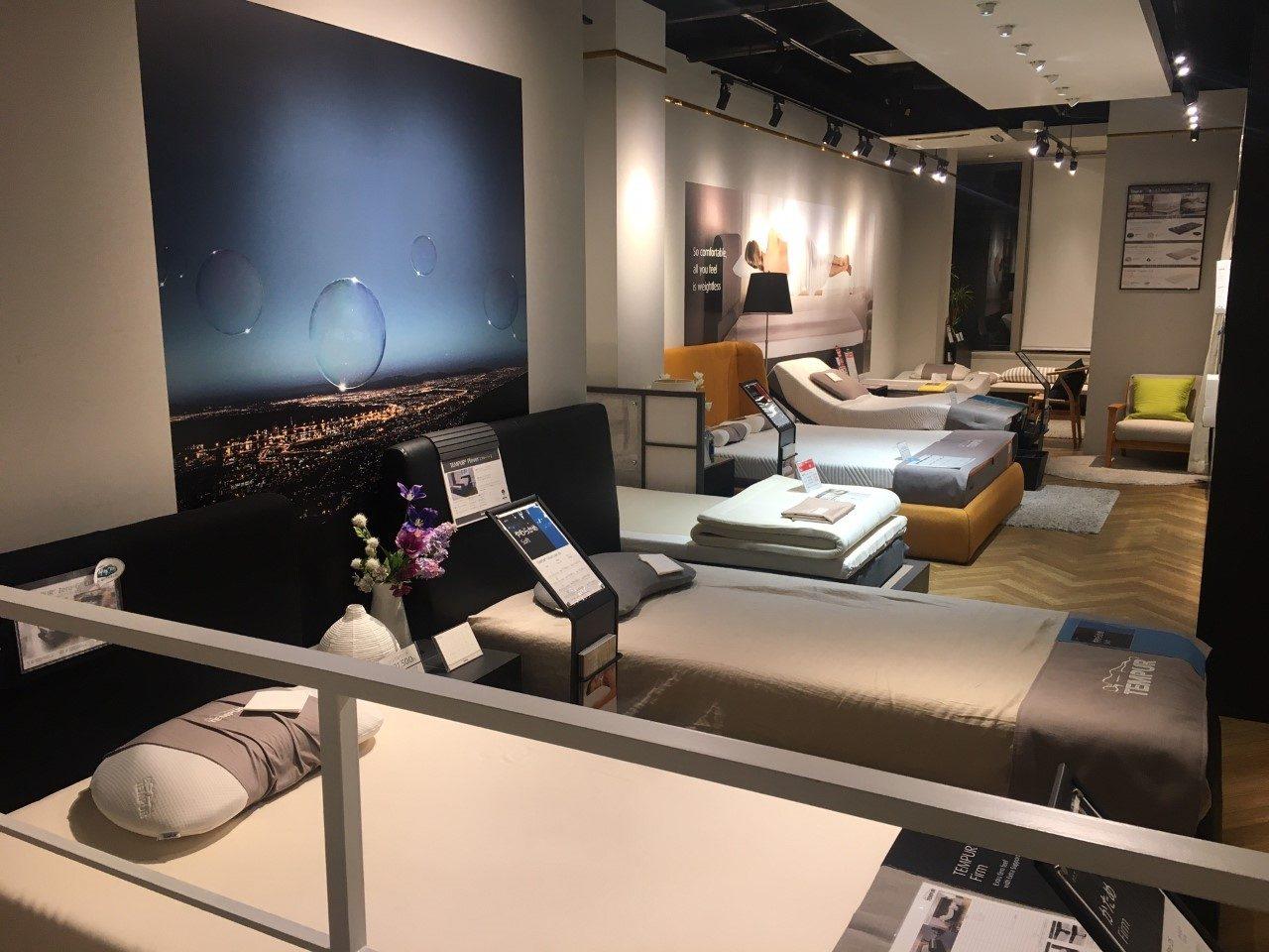TEMPUR® Yokohama showroom
