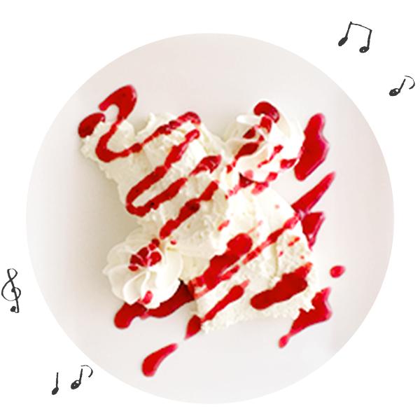 自家製レアチーズケーキ イメージ