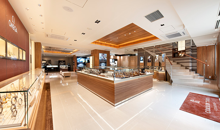 jagger associates services provided by interior designers COMMON TIME 横浜元町本店 (CHARMYウォッチ館) | 横浜元町ショッピングストリート